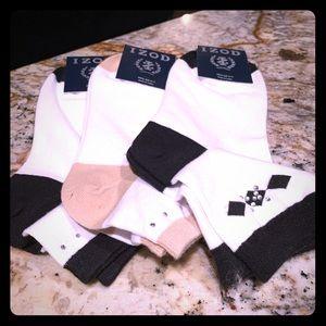 Brand new Izod ladies golf socks